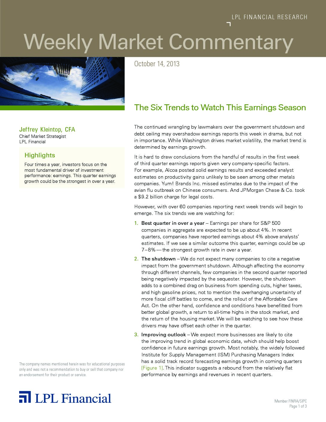 10.15.2013-The-Six-Trends---Market-Commentary