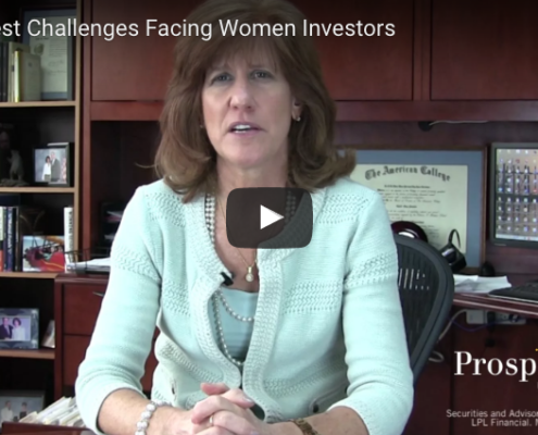 Challenges Facing Women Investors