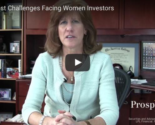 Challenges Facing Women Investors