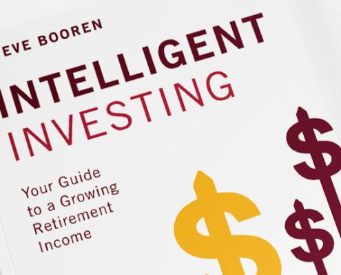 Cover for Intelligent Investing by Steve Booren
